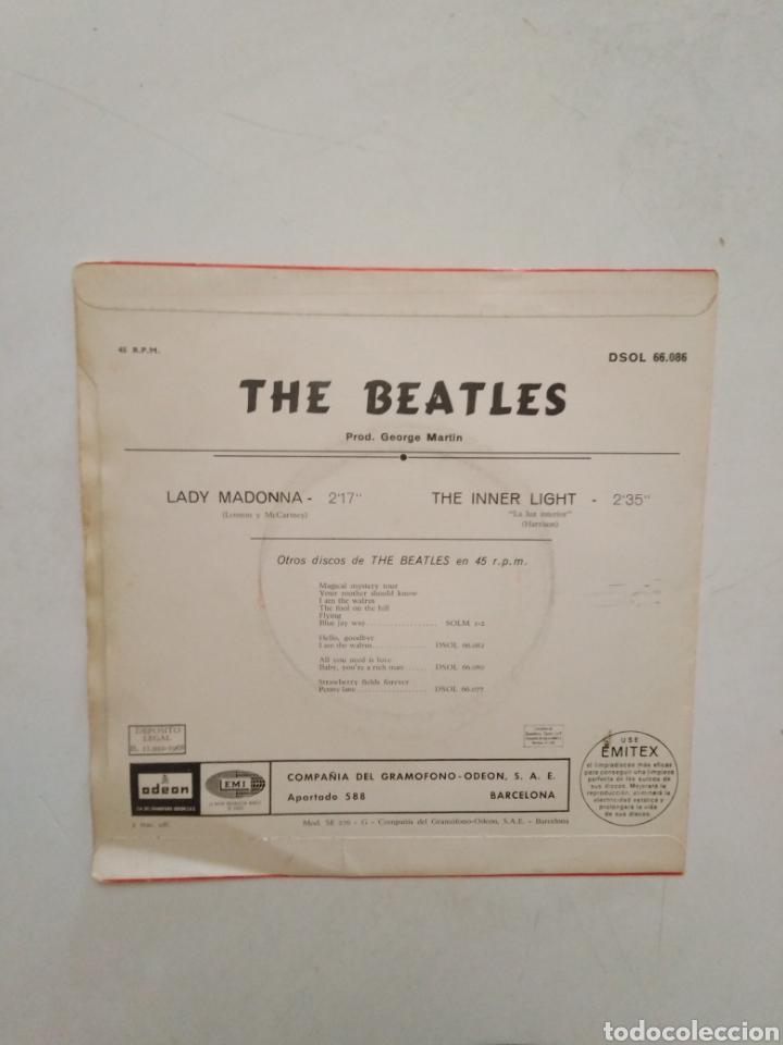Discos de vinilo: Lote de 3 vinilos THE BEATLES ( leer descripción ) - Foto 3 - 278487123