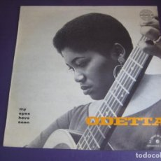 Discos de vinilo: ODETTA – MY EYES HAVE SEEN - LP AMADEO FRANCIA - BLUES FOLK JAZZ SOUL - SIN APENAS USO. Lote 278487218