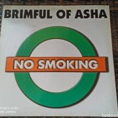 """Discos de vinilo: NO SMOKING - BRIMFUL OF ASHA (12""""). Lote 278487508"""