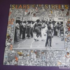 Discos de vinilo: STARS OF THE STREETS - LP MOVIEPLAY RECOPILATORIO JAZZ SOUL - 13 BANDAS NUEVO BLUES - SIN USO. Lote 278487538