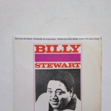 Discos de vinil: BILLY STEWART, VINILO EP. Lote 278488288