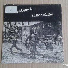 Discos de vinilo: SOZIEDAD ALKOHOLIKA - ARIEL ULTRA SINGLE 1993 ( DISCO DEFECTUOSO Y CON AUTOGRAFOS ? ? ). Lote 278488433
