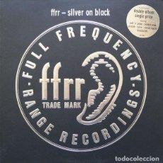 Discos de vinilo: VARIOUS – FFRR - SILVER ON BLACK. Lote 278490558