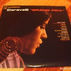 Discos de vinilo: CARAVELLI LP GRAND PRIX CBS ORIGINAL ESPAÑA 1967 LAMINADA. Lote 278490563