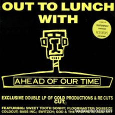 Discos de vinilo: VARIOUS – OUT TO LUNCH WITH AHEAD OF OUR TIME. Lote 278491263