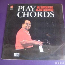 Discos de vinilo: MILT BUCKNER – PLAY CHORDS - LP BASF 1976 - PIANO JAZZ - JO JONES + JIMMY WOODS - SIN APENAS USO. Lote 278491638