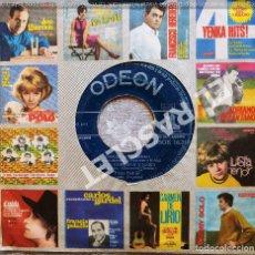 Discos de vinilo: MAGNIFICO SINGLE DE : ODEON - CANCIONES ANTIGÚAS : COPLAS DEL ARRIERO-ENTRE CONSUELO Y MARIA. Lote 278493483