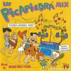 Discos de vinilo: VARIOUS – LOS PICAPIEDRA MIX. Lote 278494963