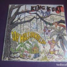 Discos de vinilo: KING KURT – OOH WALLAH WALLAH - LP VICTORIA STIFF 1984 PRECINTADO - PSYCHOBILLY ROCKABILLY METEORS. Lote 278495303