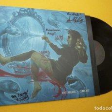 Discos de vinilo: LP THE EVIDENCE - CURRENTS - CANADA PRESS - MTRC023 - GROUP SIGNED (M-/EX++). Lote 278496848