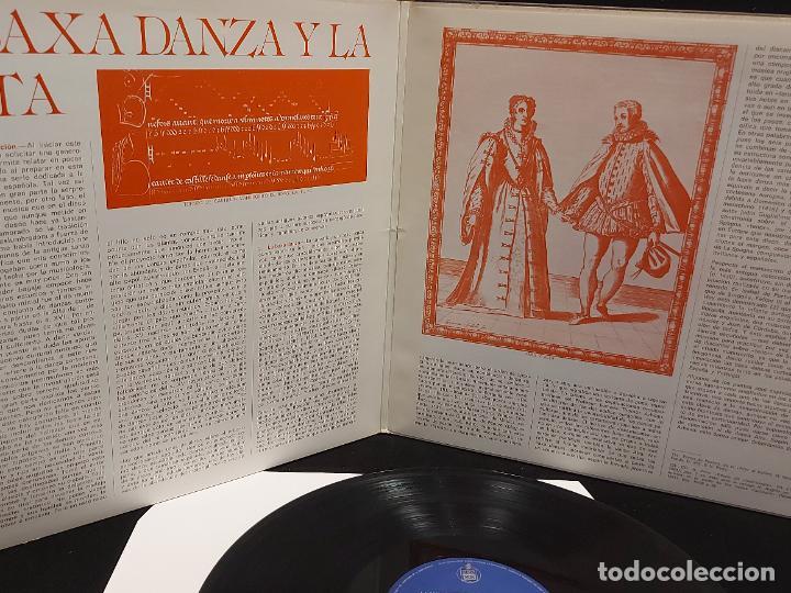 Discos de vinilo: LA BAXA DANZA Y LA ALTA / MÚSICA ANTIGUA ESPAÑOLA / LP-GATEFOLD-HISPAVOX-1975 / MBC. ***/*** INSERTO - Foto 3 - 278498118