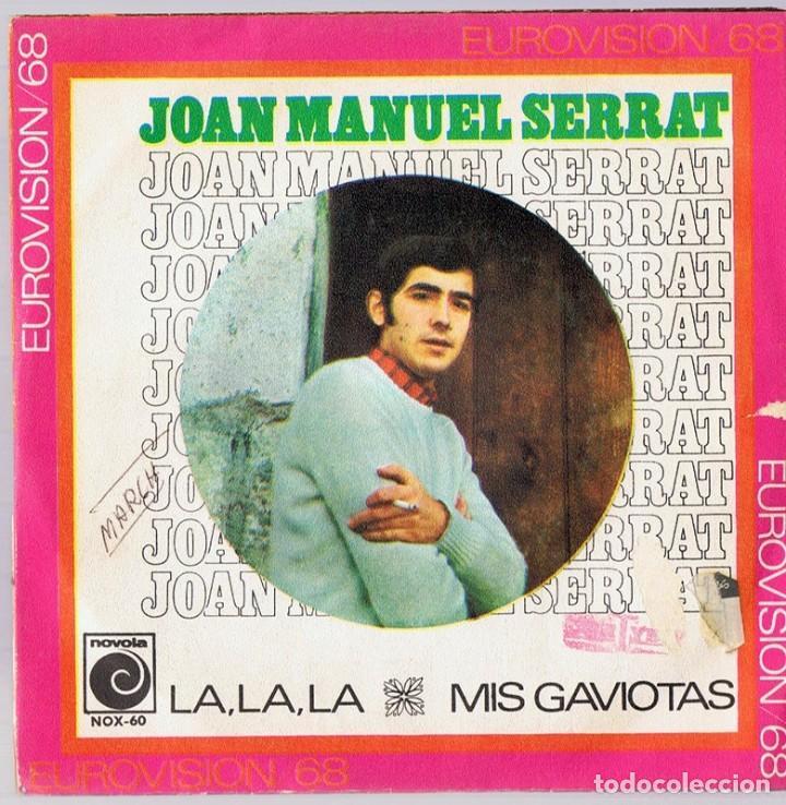 JOAN MANUEL SERRAT ¨LA,LA,LA & MIS GAVIOTAS¨ (EUROVISIÓN 1968) (Música - Discos - LP Vinilo - Solistas Españoles de los 70 a la actualidad)