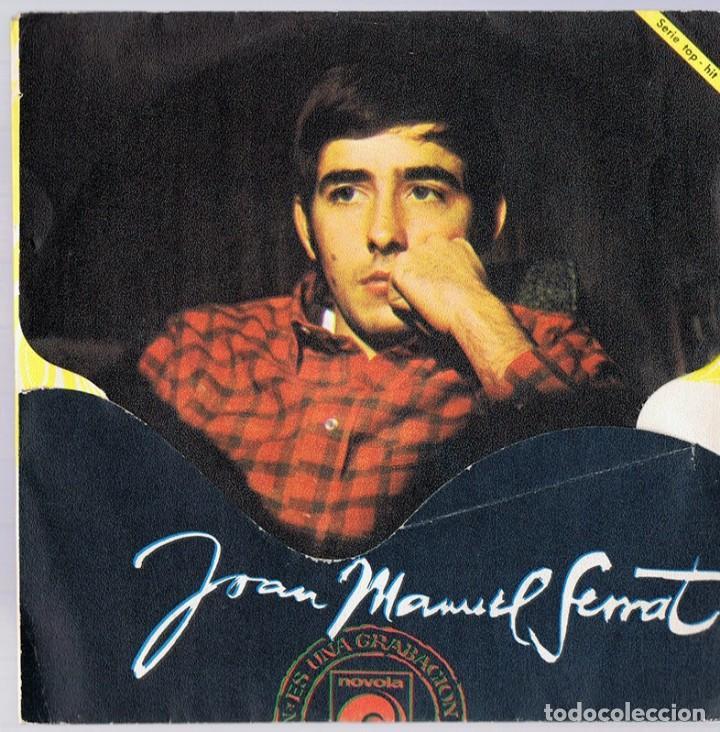 Discos de vinilo: JOAN MANUEL SERRAT ¨LA,LA,LA & MIS GAVIOTAS¨ (EUROVISIÓN 1968) - Foto 2 - 278498453