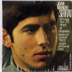 Discos de vinilo: JOAN MANUEL SERRAT ¨ARA QUE TINC 20 ANYS¨. Lote 278502128