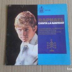 Discos de vinilo: RAPHAEL - CANTA LA NAVIDAD EP 1965 4 TEMAS. Lote 278502403