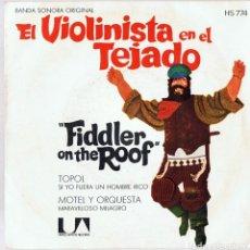 Discos de vinilo: EL VIOLINISTA EN EL TEJADO ¨FIDDLER ON THE ROOF¨. Lote 278502723