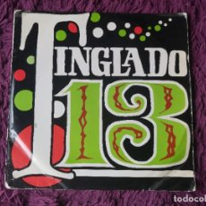 "Discos de vinilo: TINGLADO 13 ,VINYL 7"" EP 1970 SPAIN Q. E. N. - 9.225. Lote 278503328"