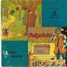 Discos de vinilo: CAPERUCITA & PULGARCITO. Lote 278504078