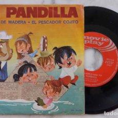 Discos de vinilo: LA PANDILLA. CAPITAN DE MADERA. SINGLE ESPAÑA 1970. Lote 278504518