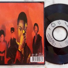 Discos de vinilo: THE BEATMASTERS WITH MERLIN. WHO'S IN THE HOUSE. SINGLE FRANCIA 1989. Lote 278505153