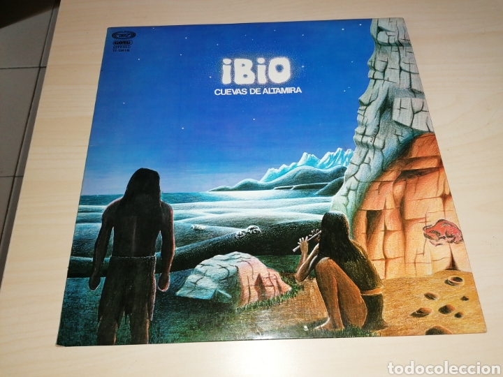 IBIO - CUEVAS DE ALTAMIRA - LP DE SELLO MOVIEPLAY SERIE GONG - EDICIÓN ESPAÑOL 1978 (Música - Discos - LP Vinilo - Grupos Españoles de los 70 y 80)
