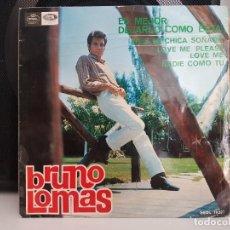 Discos de vinilo: *BRUNO LOMAS - ES MEJOR DEJARLO COMO ESTÁ + 3 - EP AÑO 1965 - LEER DESCRIPCIÓN. Lote 278508403