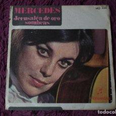 "Discos de vinilo: MERCEDES – JERUSALÉN DE ORO ,VINYL 7"" SINGLE 1968 SPAIN MO 494 PROMO. Lote 278510103"