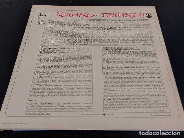 Discos de vinilo: MARCEL CELLIER / TZIGANE, TZIGANES / DOCUMENTS INEDITS / LP-ARION-1976 / MBC. ***/*** - Foto 2 - 278511473