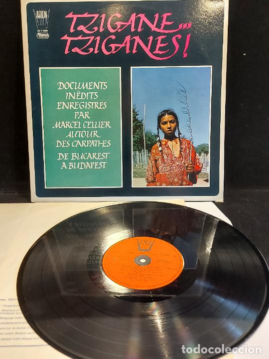 MARCEL CELLIER / TZIGANE, TZIGANES / DOCUMENTS INEDITS / LP-ARION-1976 / MBC. ***/*** (Música - Discos - LP Vinilo - Country y Folk)