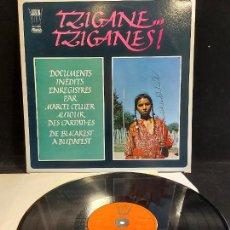 Discos de vinilo: MARCEL CELLIER / TZIGANE, TZIGANES / DOCUMENTS INEDITS / LP-ARION-1976 / MBC. ***/***. Lote 278511473