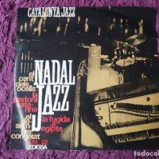 "Discos de vinilo: CATALÒNIA JAZZ QUARTET – NADAL JAZZ ,VINYL 7"" EP 1965 SPAIN CM 121. Lote 278514233"