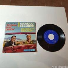 Discos de vinilo: 21-1. MANOLO ESCOBAR, COMO JUGANDO AL AMOR, HABANERA BONITA, UN BESO EN EL PUERTO, UN BOLERO PARA TI. Lote 278514308