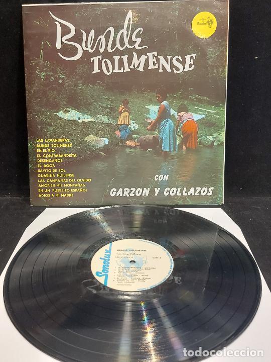 GARZÓN Y COLLAZOS / BUNDE TOLIMENSE / LP - SONOLUX-COLOMBIA / MBC. ***/*** (Música - Discos - LP Vinilo - Étnicas y Músicas del Mundo)