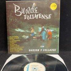 Discos de vinilo: GARZÓN Y COLLAZOS / BUNDE TOLIMENSE / LP - SONOLUX-COLOMBIA / MBC. ***/***. Lote 278515018