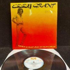 Discos de vinilo: EDDY GRANT / CAMINANDO SOBRE EL SOLI / LP-ICE-SPAIN-1979 / MBC. ***/***. Lote 278516138