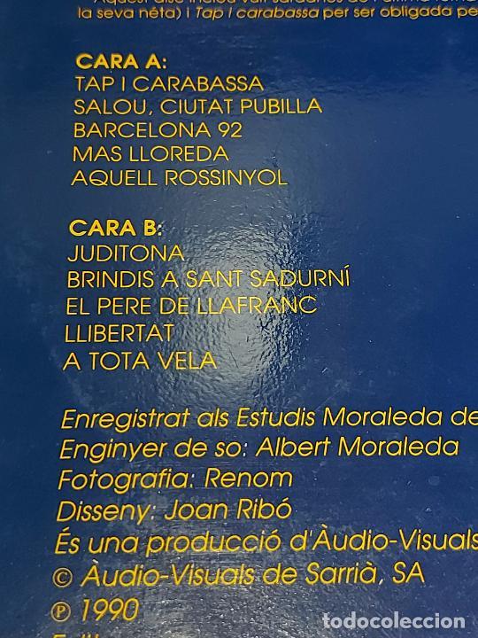 Discos de vinilo: COBLA LA PRINCIPAL DE LA BISBAL / SARDANES DEN RICARD VILADESAU / LP AUDIOVISUALS / MBC. ***/*** - Foto 3 - 278516973
