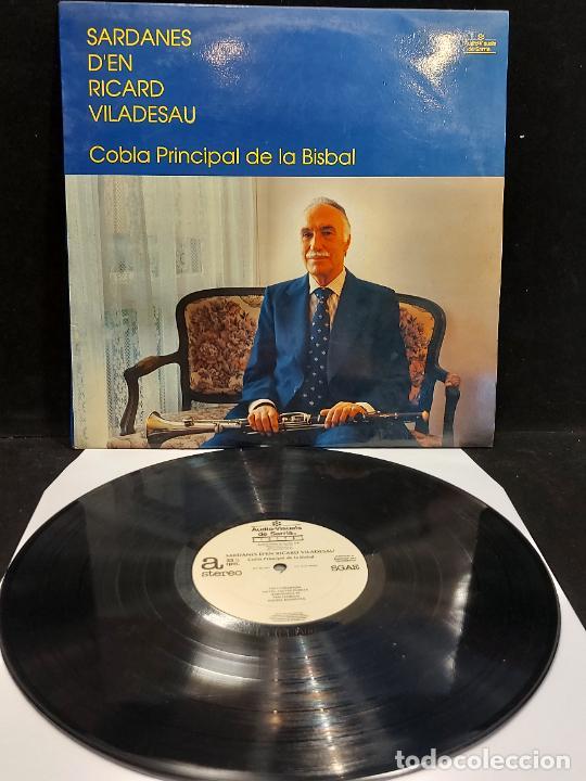 COBLA LA PRINCIPAL DE LA BISBAL / SARDANES D'EN RICARD VILADESAU / LP AUDIOVISUALS / MBC. ***/*** (Música - Discos - LP Vinilo - Country y Folk)
