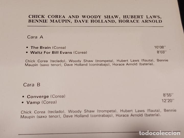 Discos de vinilo: LOS GRANDES DEL JAZZ / 3 / CHICK COREA / LP-SARPE-1980 / MBC. ***/*** - Foto 3 - 278517528