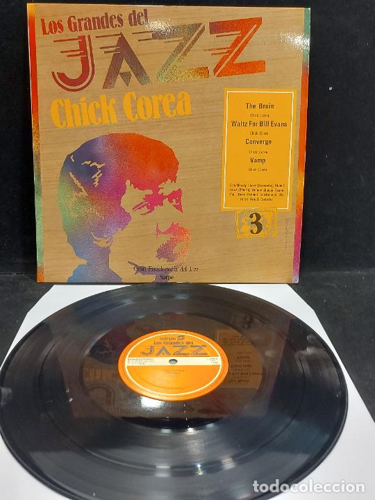 LOS GRANDES DEL JAZZ / 3 / CHICK COREA / LP-SARPE-1980 / MBC. ***/*** (Música - Discos - LP Vinilo - Jazz, Jazz-Rock, Blues y R&B)