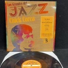 Discos de vinilo: LOS GRANDES DEL JAZZ / 3 / CHICK COREA / LP-SARPE-1980 / MBC. ***/***. Lote 278517528