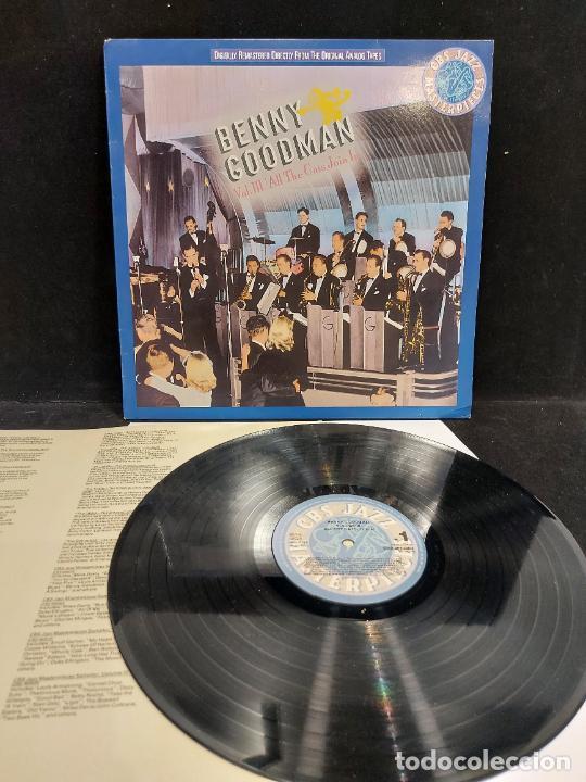 BENNY GOODMAN / VOL III / ALL THE CATS JOIN IN / LP - CBS-JAZZ-1988 / MBC. ***/*** INSERTO. (Música - Discos - LP Vinilo - Jazz, Jazz-Rock, Blues y R&B)