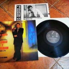 Discos de vinilo: UN PINGUINO EN MI ASCENSOR LA SANGRE Y LA TELEVISION LP VINILO AÑO 1990 ENCARTE CONTIENE 10 TEMAS. Lote 278525868