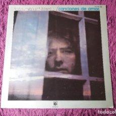 Discos de vinilo: JOAN MANUEL SERRAT – CANCIONES DE AMOR, VINYL LP 1977 SPAIN GATEFOLD NLX-1062. Lote 278531273
