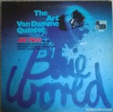 Discos de vinilo: JOE PASS & THE ART VAN DAMME QUINTET. BLUE WORLD. PAUSA, USA 1971 LP. Lote 278535073