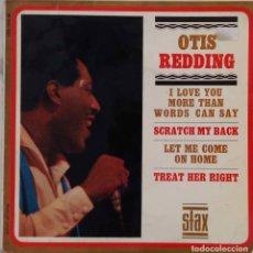 Discos de vinilo: OTIS REDDING. I LOVE YOU MORE THAN WORDS CAN SAY. EP ESPAÑA. SOLO SE VENDE LA PORTADA. Lote 278547538