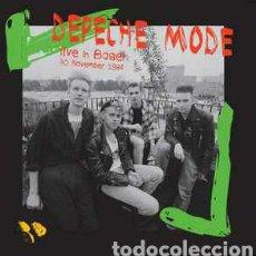 Discos de vinilo: DEPECHE MODE–LIVE IN BASEL. LP VINILO PRECINTADO. Lote 278550208