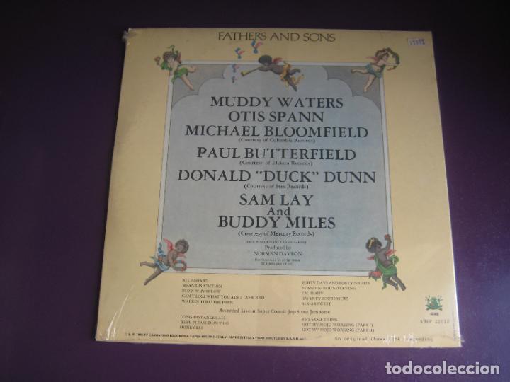 Discos de vinilo: Muddy Waters – Fathers And Sons - DOBLE LP FROG 1981 PRECINTADO - BLUES ROCK - EDICION ITALIA - Foto 2 - 278555888