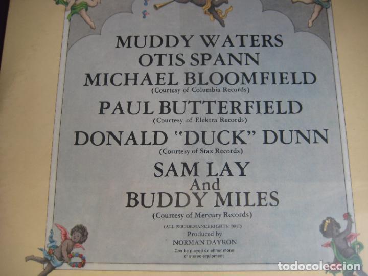 Discos de vinilo: Muddy Waters – Fathers And Sons - DOBLE LP FROG 1981 PRECINTADO - BLUES ROCK - EDICION ITALIA - Foto 3 - 278555888