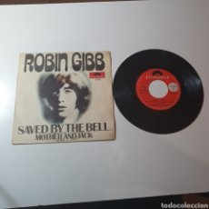 Discos de vinilo: 21-1. ROBIN GIBB - SAVED BY THE BELL / MOTHER AND JACK, POLYDOR, 1969.. Lote 297394163