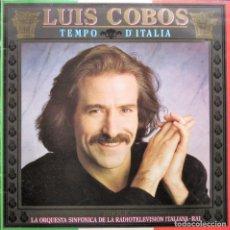 Discos de vinilo: LUIS COBOS - TEMPO D'ITALIA. Lote 278564203
